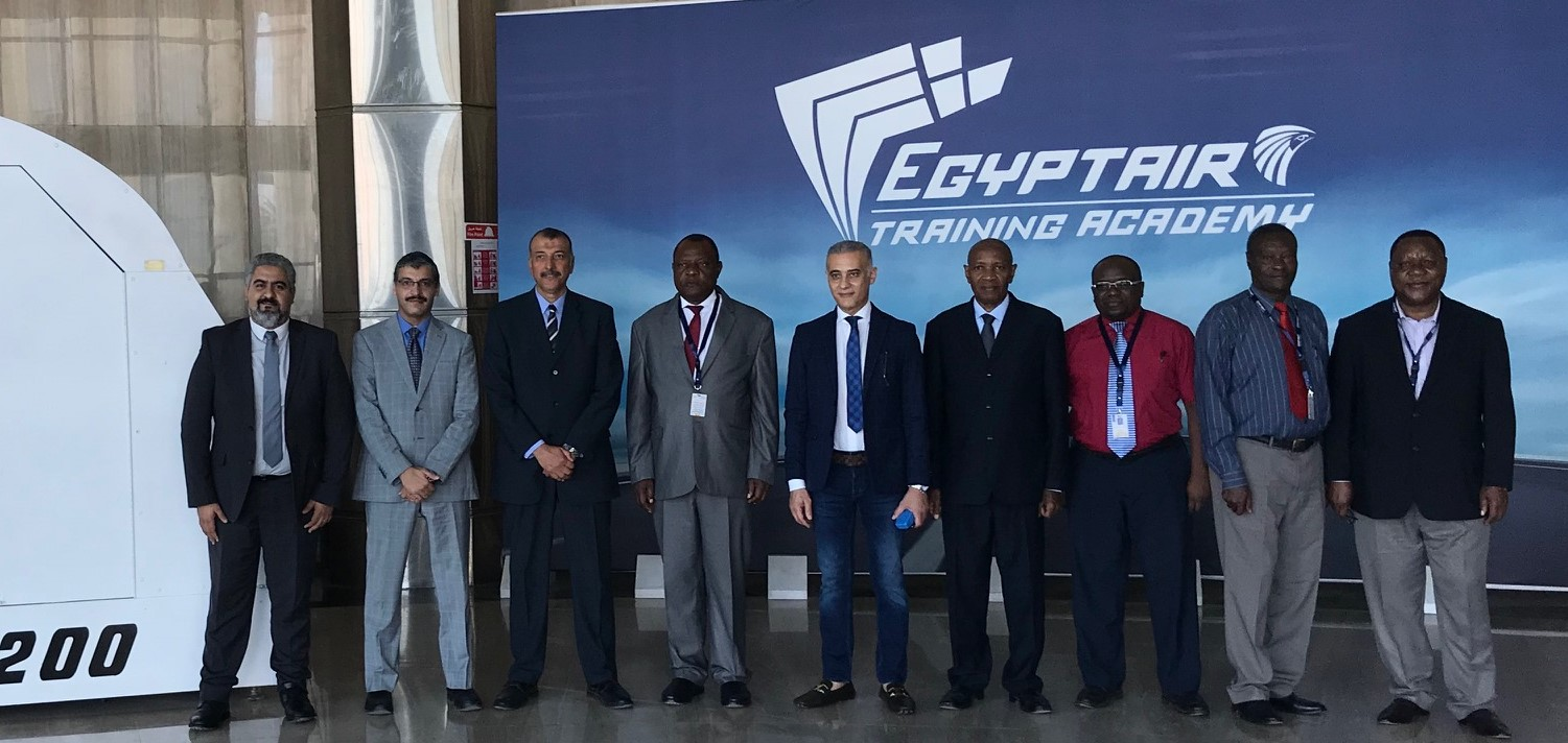 Visit of Tanzanian Airlines Delegation to EGYPTAIR Training Academy