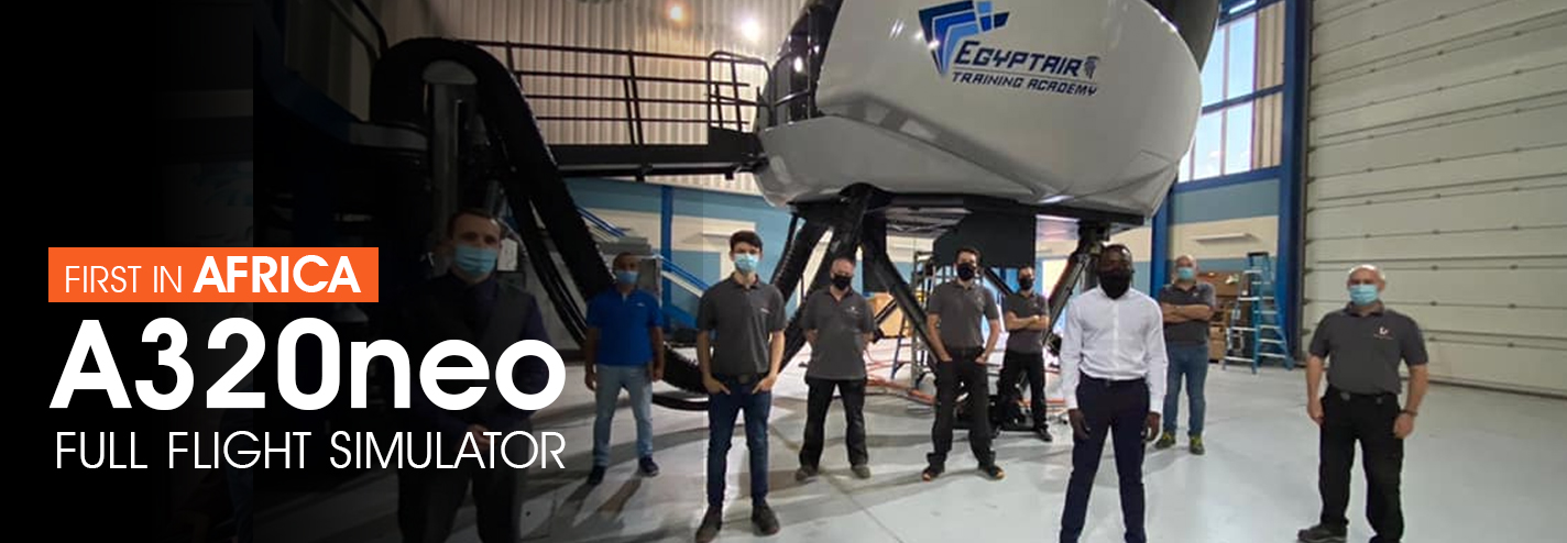 EGYPTAIR is the first African airline in to add a simulator for the latest Airbus A320Neo aircraft to its TRAINING ACADEMY